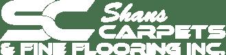 shans carpet logo white | Shan's Carpets & Fine Flooring