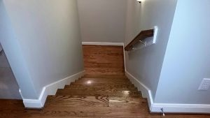 Stairs floor design | Shans Carpets And Fine Flooring Inc