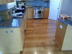 Kitchen floor | Shans Carpets And Fine Flooring Inc