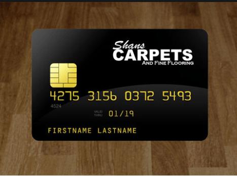 Shans Carpets Debit Card | Shans Carpets And Fine Flooring Inc