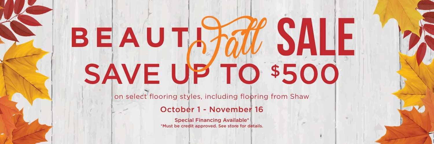 Beautifall sale | Shans Carpets And Fine Flooring Inc