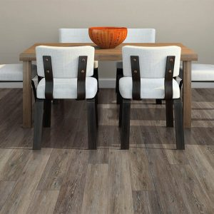 Small dining table on Luxury vinyl floor | Shans Carpets And Fine Flooring Inc