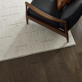 Chair on Hardwood flooring | Shans Carpets And Fine Flooring Inc