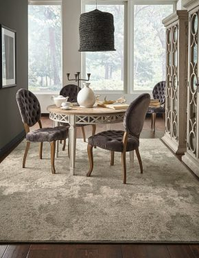 Dining room view | Shans Carpets And Fine Flooring Inc