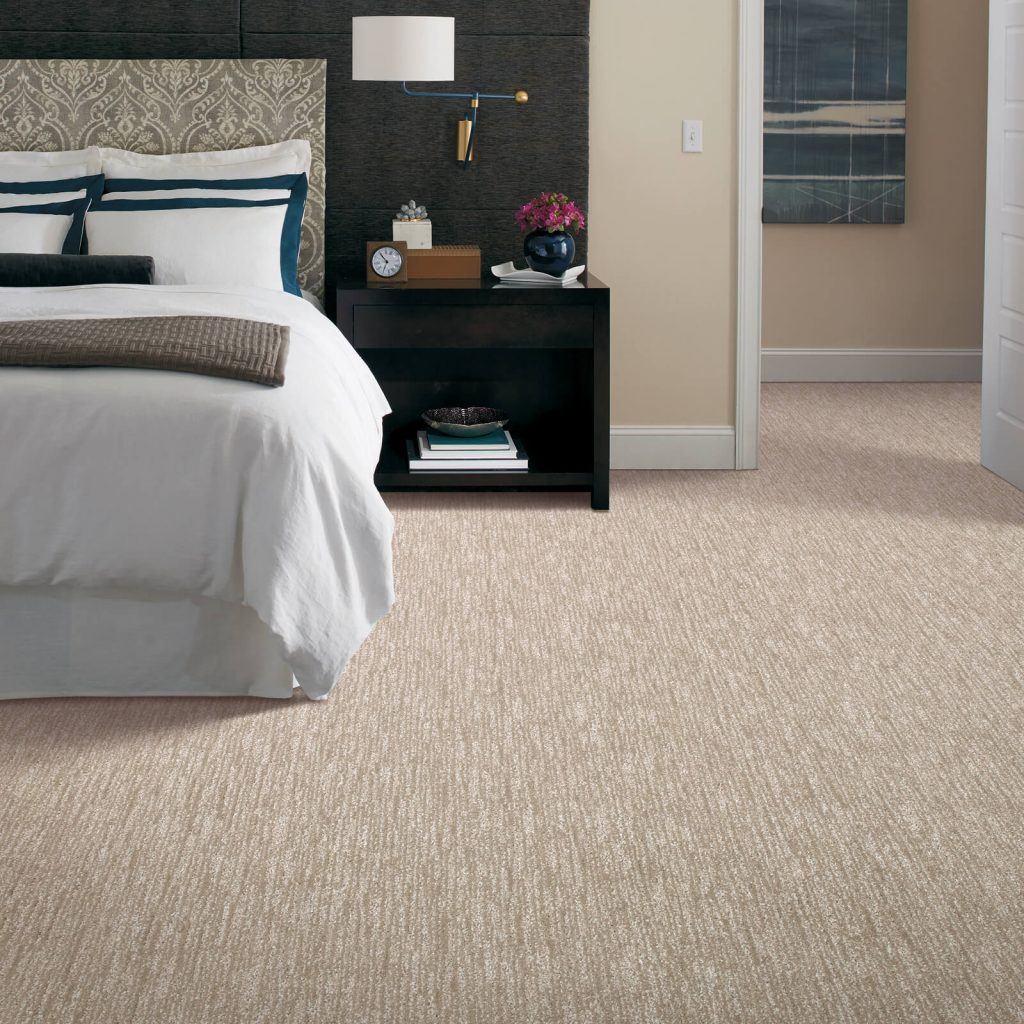 New Carpet in bedroom | Shans Carpets And Fine Flooring Inc