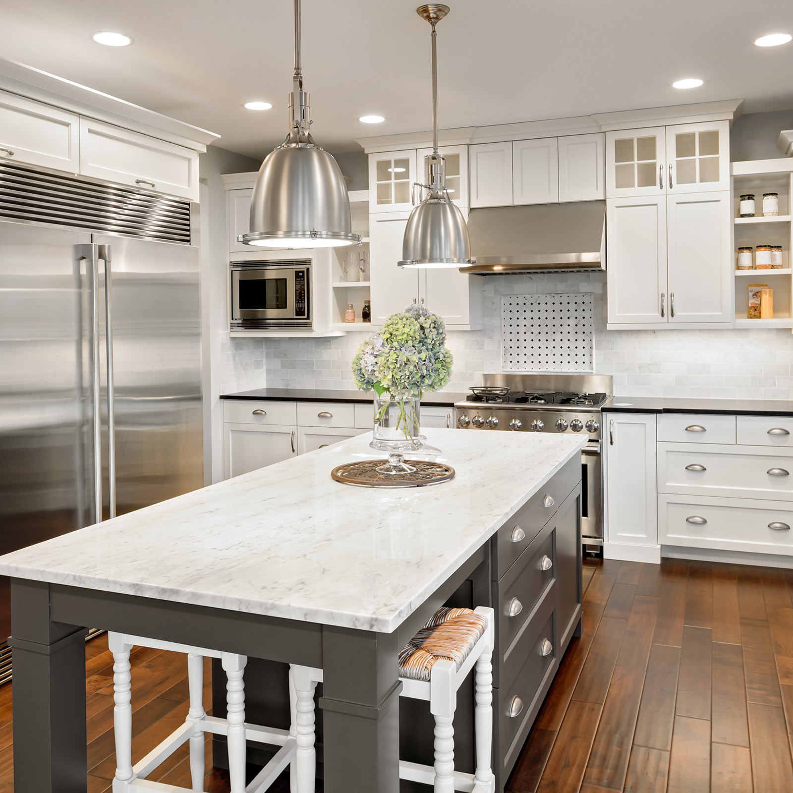 Wood looks for kitchen | Shans Carpets And Fine Flooring Inc