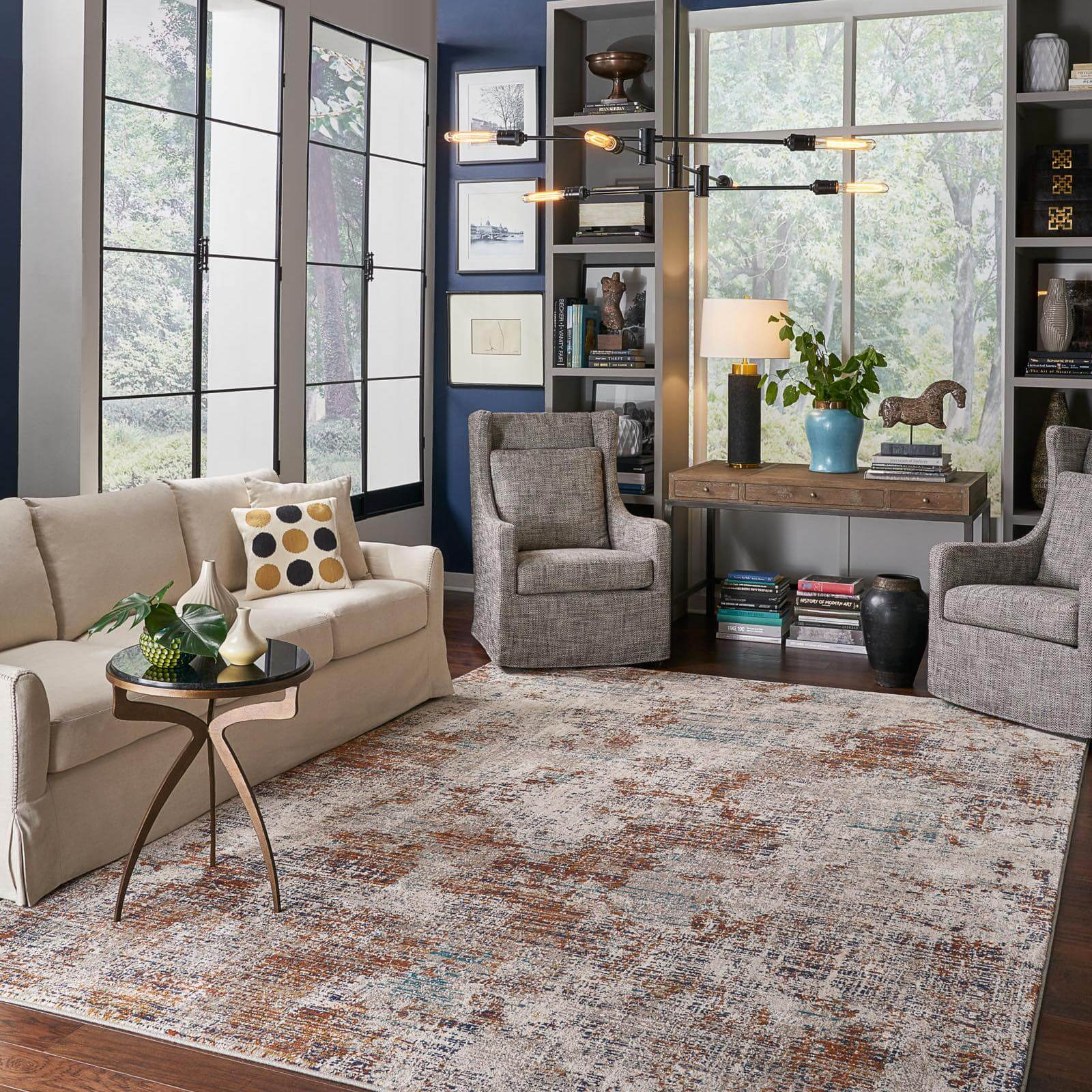 Choosing the Right Size Area Rug | Shan's Carpets & Fine Flooring