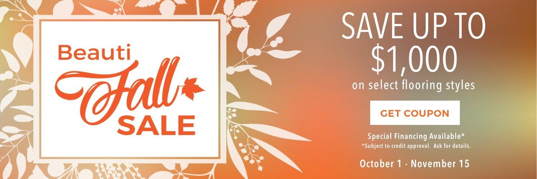 Beautifall sale | Shan's Carpets & Fine Flooring