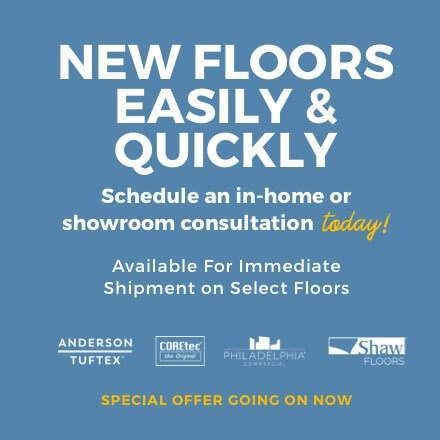 New floors easily and quickly | Shan's Carpets & Fine Flooring